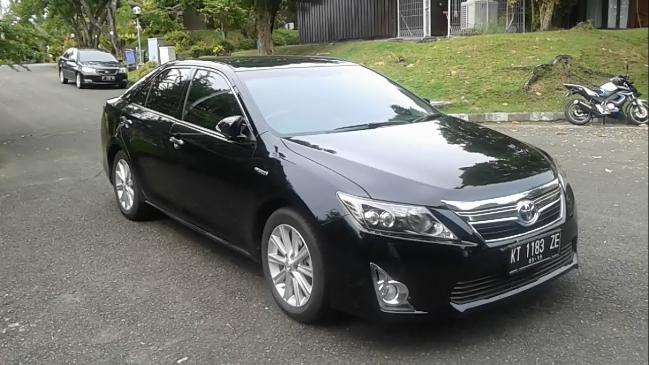 All New Camry Hybrid Indonesia Harga Grand Avanza Matic 2014 Toyota 2 5 L Start Up In Depth Review