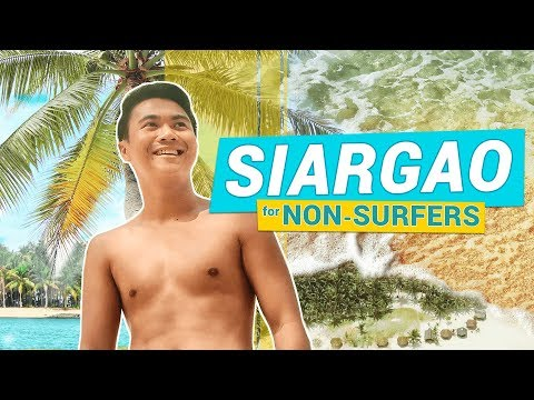 SIARGAO for Non-Surfers 🏝️ Naked, Dako & Guyam Island (Siargao Island Philippines) | TricksterzPH