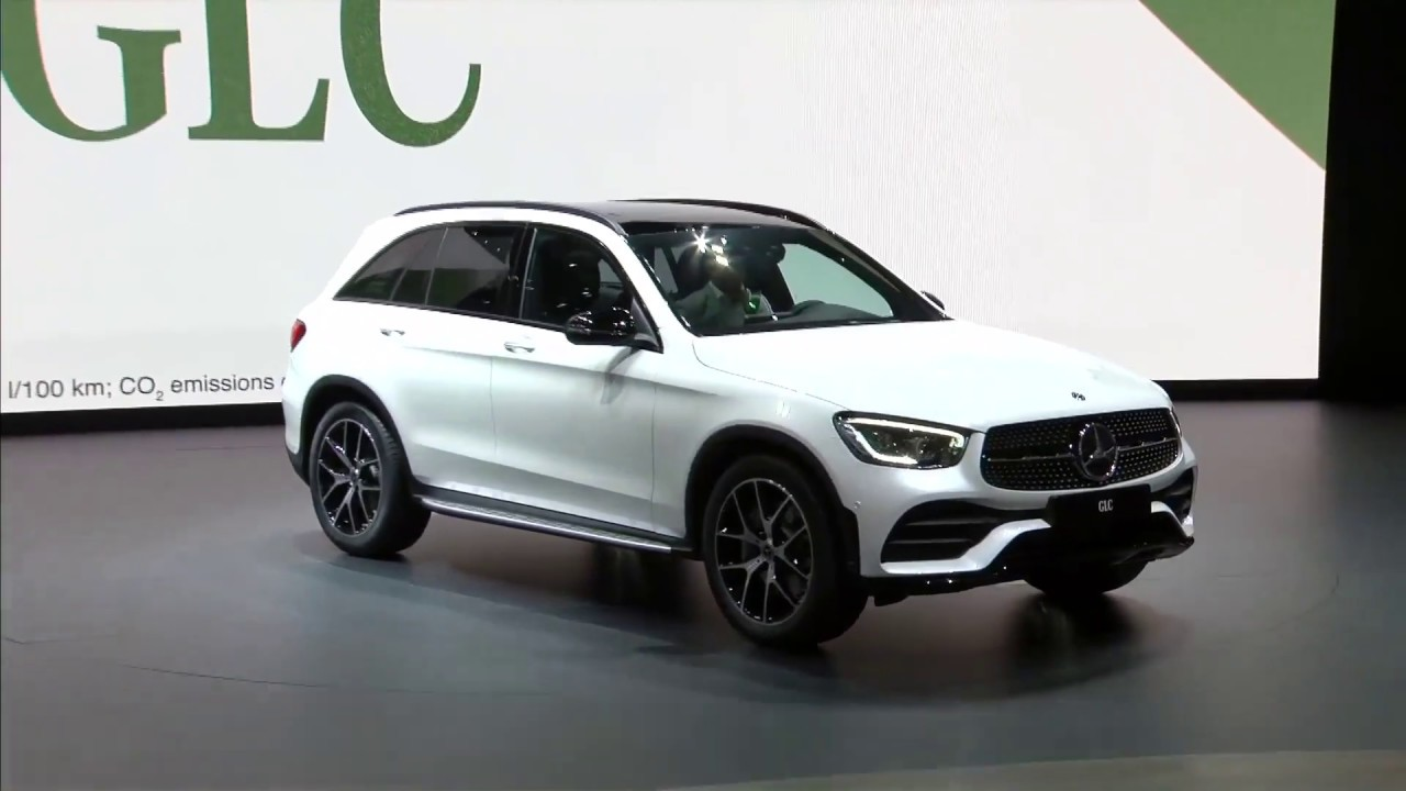 World Premiere Mercedes-Benz GLC at Geneva Motor Show 2019
