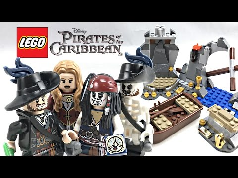 LEGO Pirates of the Caribbean Isla de Muerta review! 2011 set 4181!