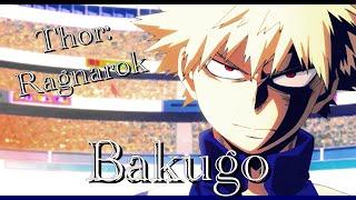 Bakugo-Thor:Ragnarok Trailer clips MHA parody