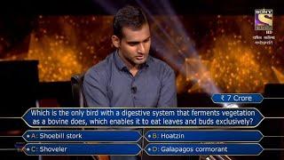 KBC 2021 seven crore question 21 October today