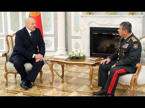 Александр Лукашенко встретился с министром обороны Азербайджана Закиром Гасановым