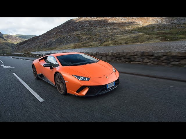 Good On The Road With Lamborghiniu0027s Huracán Performante Through Snowdonia And  Anglesey