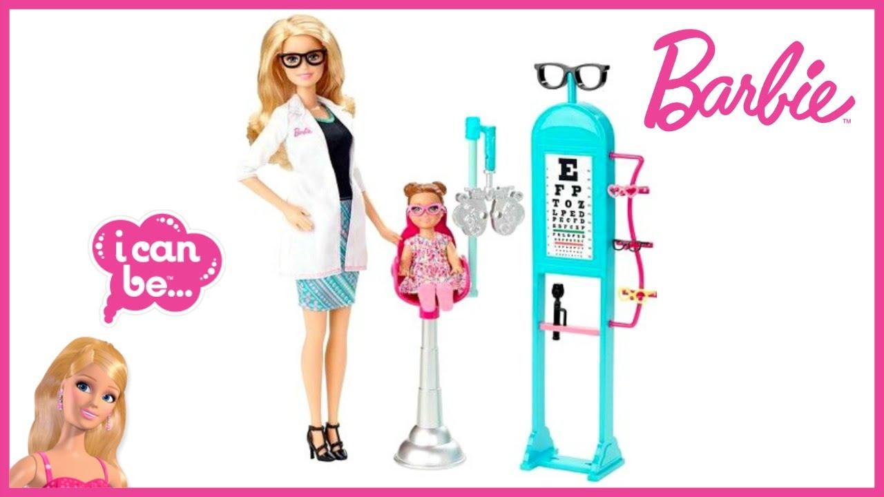 Barbie Eye Doctor Mattel Youtube