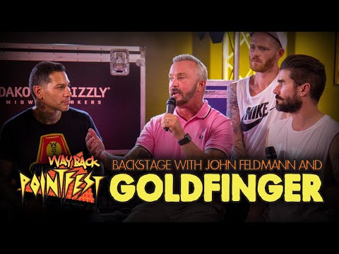 GOLDFINGER recalls getting arrested in STL at Warped Tour '95 [WayBack Pointfest]