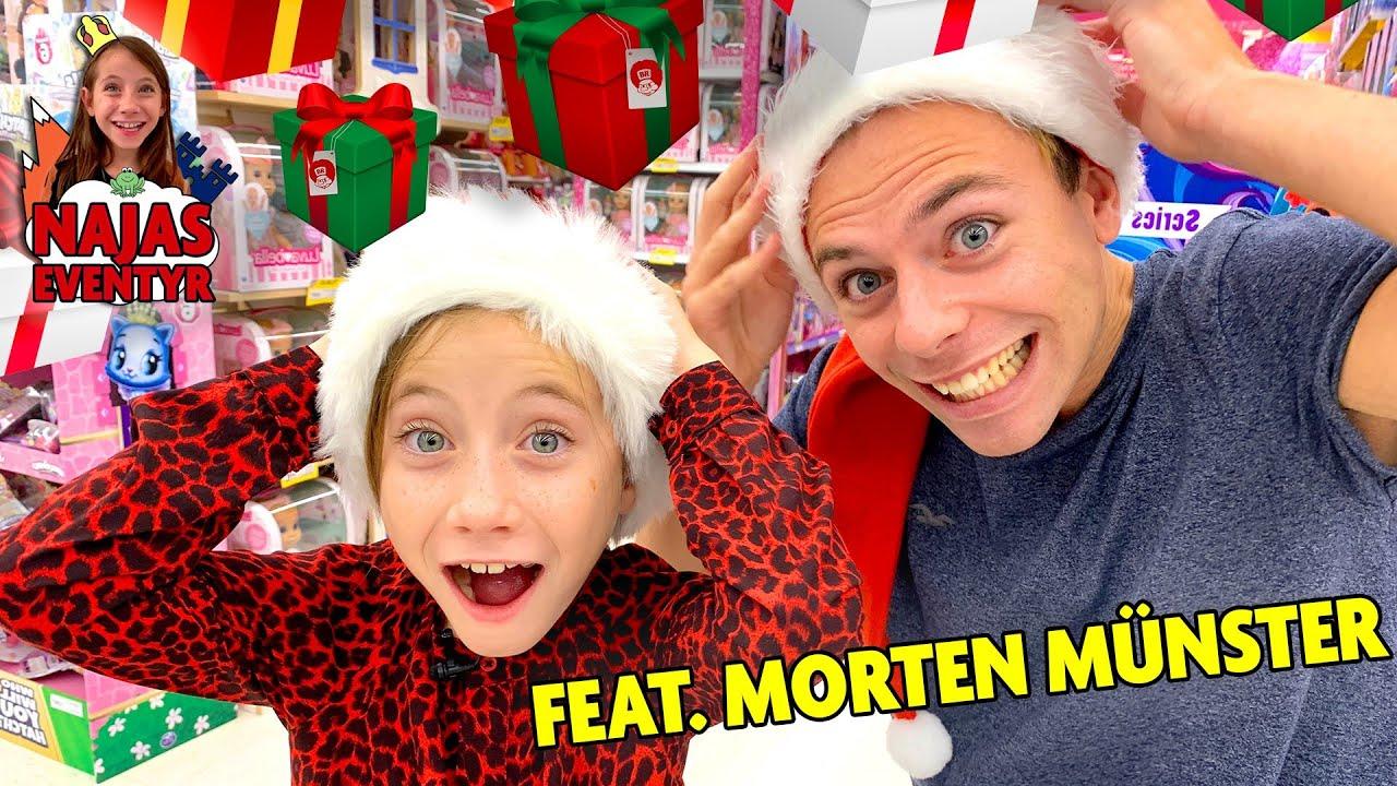 Tømmer legetøjsbutik for julegaver!!! I Najas Jule Eventyr Feat. Morten Münster