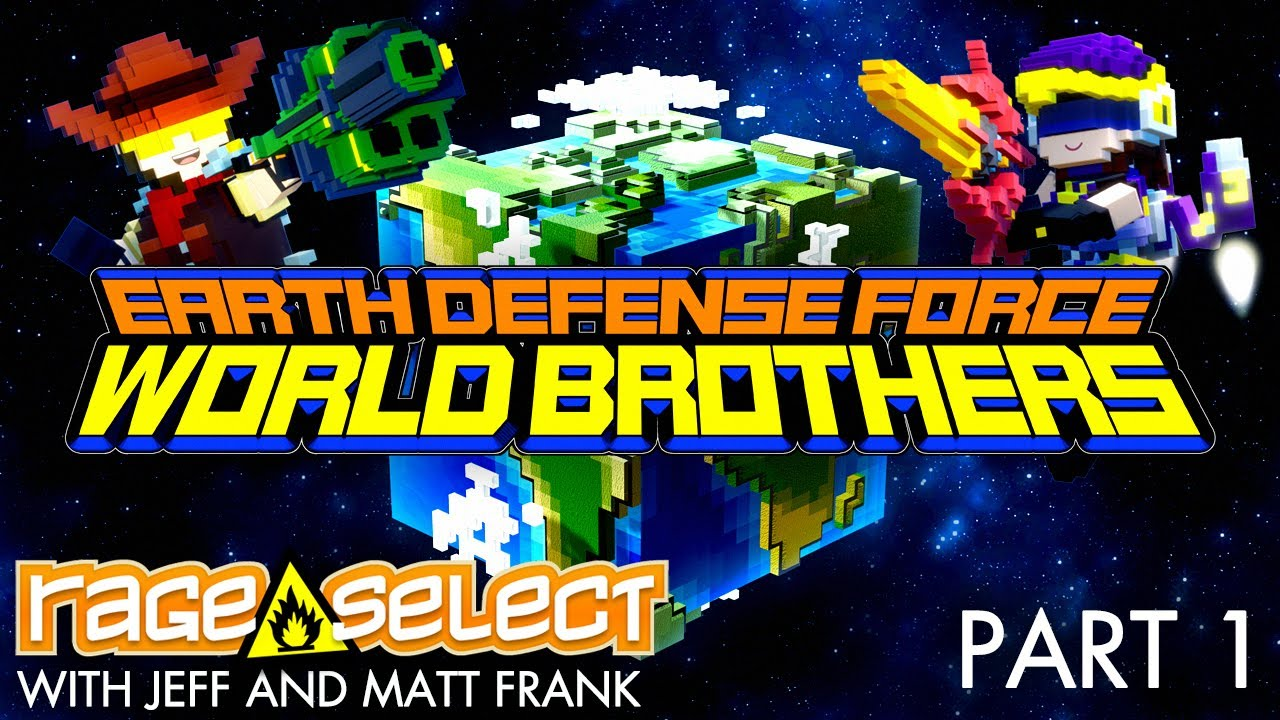 Earth Defense Force: World Brothers (The Dojo) Let's Play - Part 1