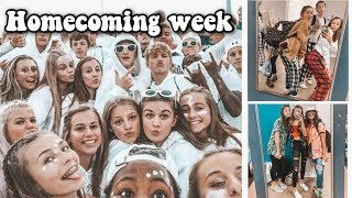 homecoming spirit week picks my outfits for a week | vlog