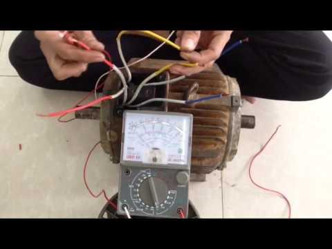 Cách Xác Định Đầu Dây Cho Động Cơ KĐB 3 Pha – Determine the polarity of three-phase motor winding