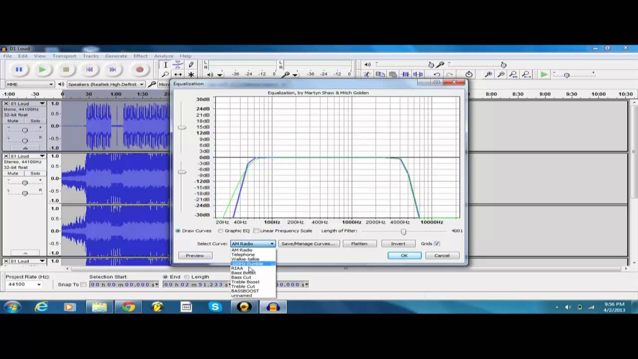 How To Bass Boost Using Audacity (BEST METHOD) - YouTube
