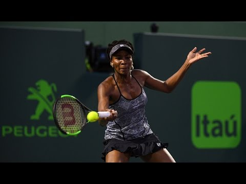 2017 Miami Open Quarterfinals | Venus Williams vs Angelique Kerber | WTA Highlights