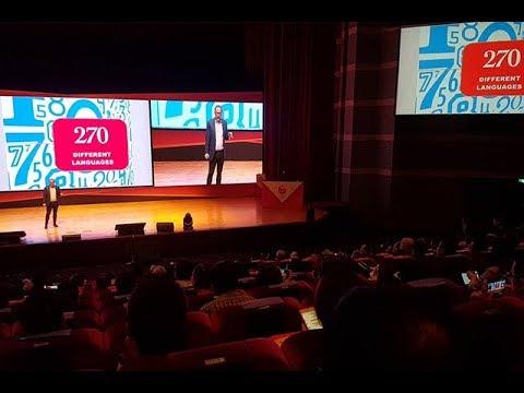 World's first android citizen nagsalita sa opening ng digital forum sa Taipei