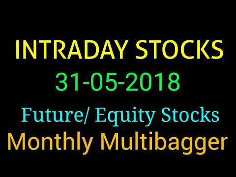 Day trading stocks 31-05-2018  Best stocks with huge potential for intraday