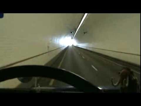 Tunel bajo el Agua en Mobile, AL por el I-10.(Traileros Mexicanos)