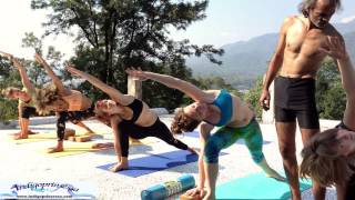 YTTC 2014: Sunday Activity Beatles Ashram 3 - Standing Asanas