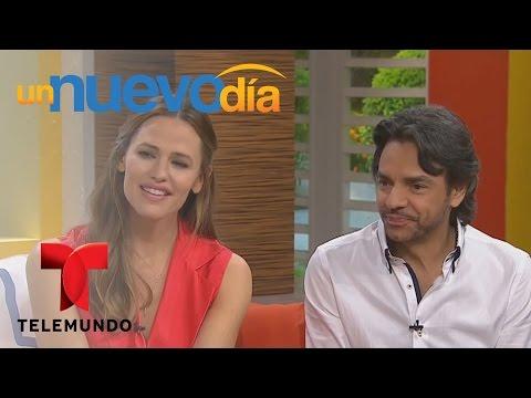 Jennifer Garner y Eugenio Derbez visitan Un Nuevo Día   Un Nuevo Día   Telemundo