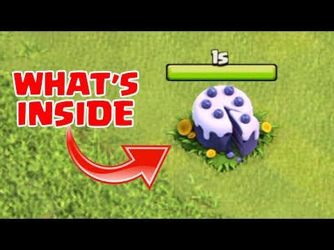 WHAT HAPPENS WHEN U REMOVE 6th ANNIVERSARY CAKE IN CLASH OF CLANS | COC AUGUST UPDATE 2018 |