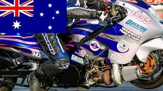 TURBO HAYABUSA POWER! HOW AUSTRALIAN PRO STREET DRAG BIKES DIFFER FROM AMERICAN RACE MOTORCYCLES