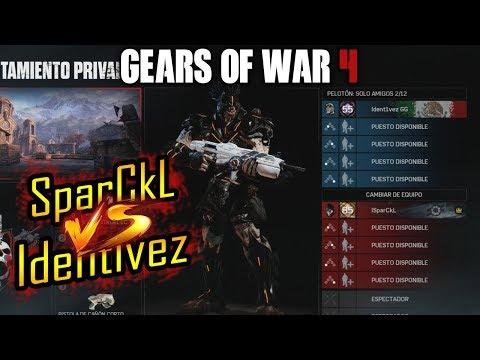 SparCkL vs Identivez | GEARS OF WAR 4