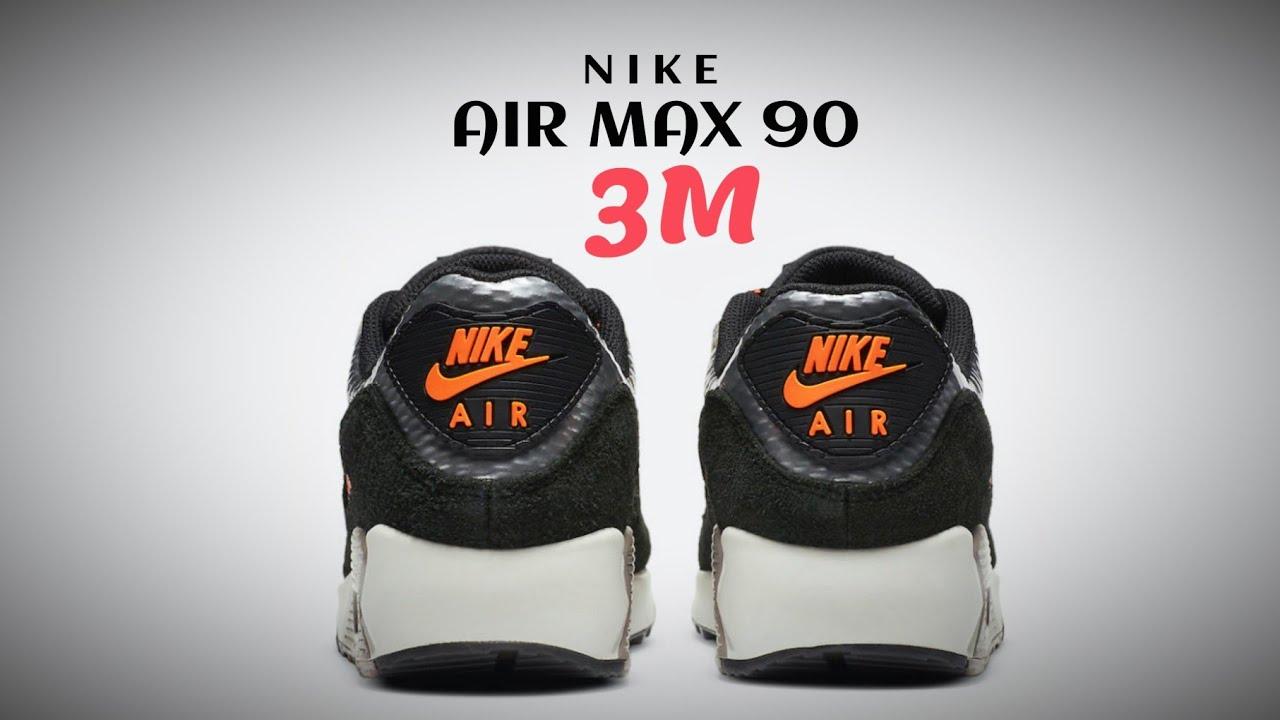 NIKE Air Max 90 x 3M 2020 DETAILED LOOK