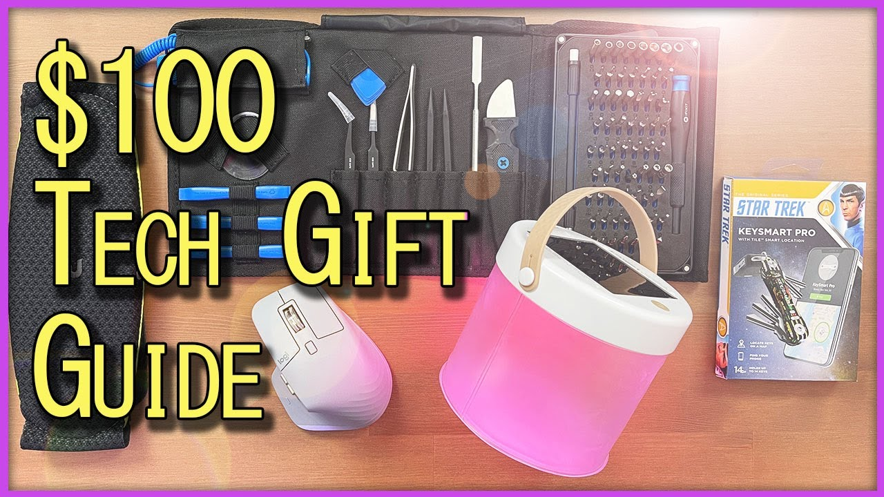 Best Tech Gifts Under 100 Five Unique Gadgets For Christmas Techmas 2020 Gift Guide Morse Code Youtube