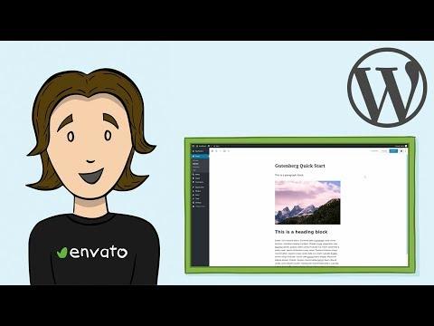 WordPress Gutenberg Editor - Quick Start Tutorial
