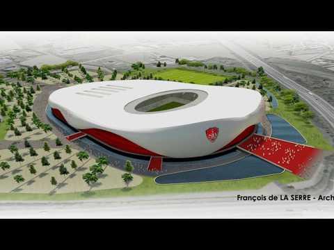 Les projets de nouveaux stades en France / French new stadiums projects