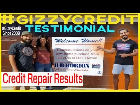 California couple buy home at 7 months after #creditrepair with #gizzycreditteam