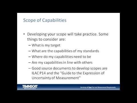 Calibration Laboratory Audit Preparation Webinar