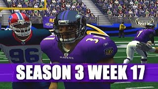 HE DONE DID IT AGAIN - ESPN NFL 2K5 BILLS FRANCHISE VS RAVENS - S3W17