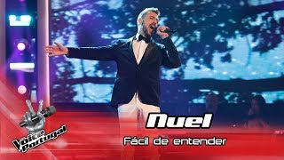 Nuel - Fcil de entender  Gala  The Voice Portugal