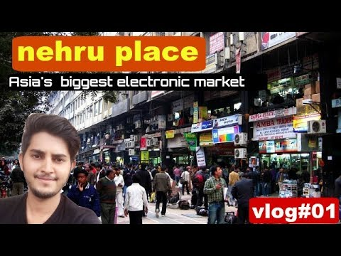 "Vlog #01- Asia's biggest electronics market in Delhi "" cheapest market in the world"""