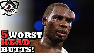 The 5 Worst Headbutts in Sports History