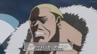 Charlotte Daifuku  Revealed - One Piece Ep 826 English Sub