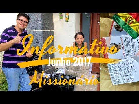 INFORMATIVO MISSIONÁRIO Junho 2017