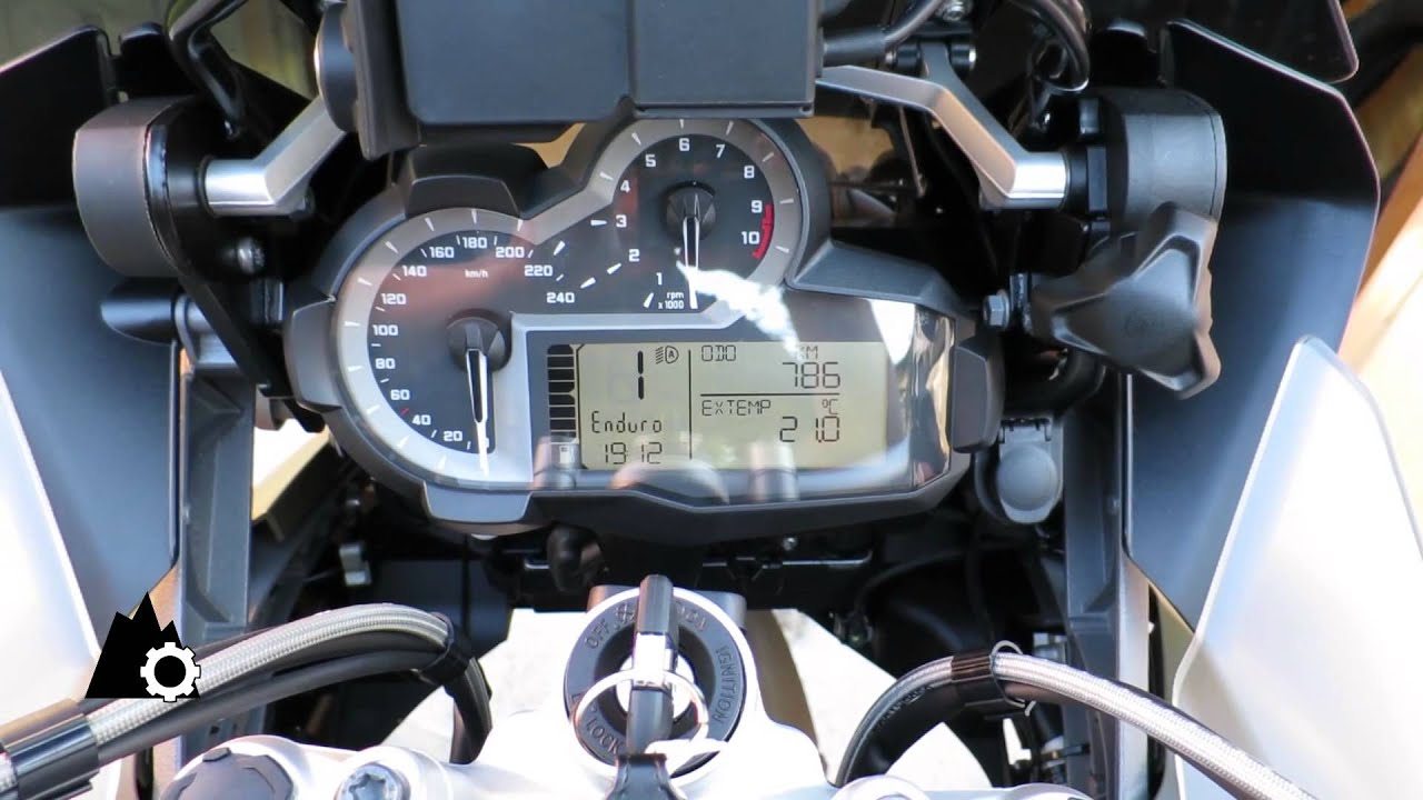 BMW R1200 GS Adventure LC - Cockpit Check - YouTube