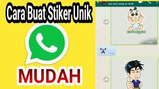 Membuat Stiker Keren di aplikasi Whatsapp