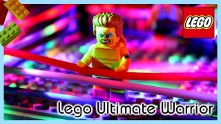 Lego WWE Ultimate Warrior Tribute