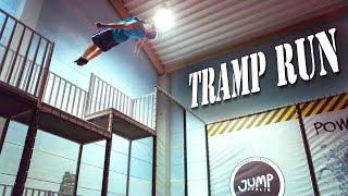 Trampolin Freerunning im Jump Berlin