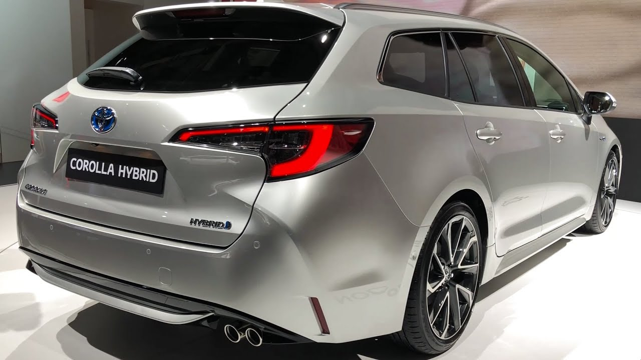 2019 Toyota Corolla Hybrid Touring Sports Wagon Youtube