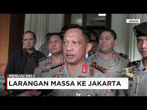 Kapolri Larang Pengerahan Massa di Pilkada DKI