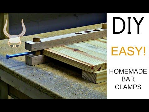 Crazy Easy Homemade Bar Clamps | DIY