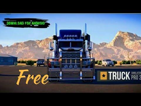 truck simulator pro 2016 apk+obb
