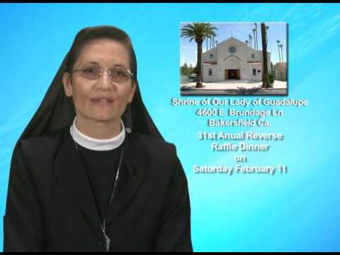 31st annual reverse raffle dinner at the shrine of our lady of guadalupe