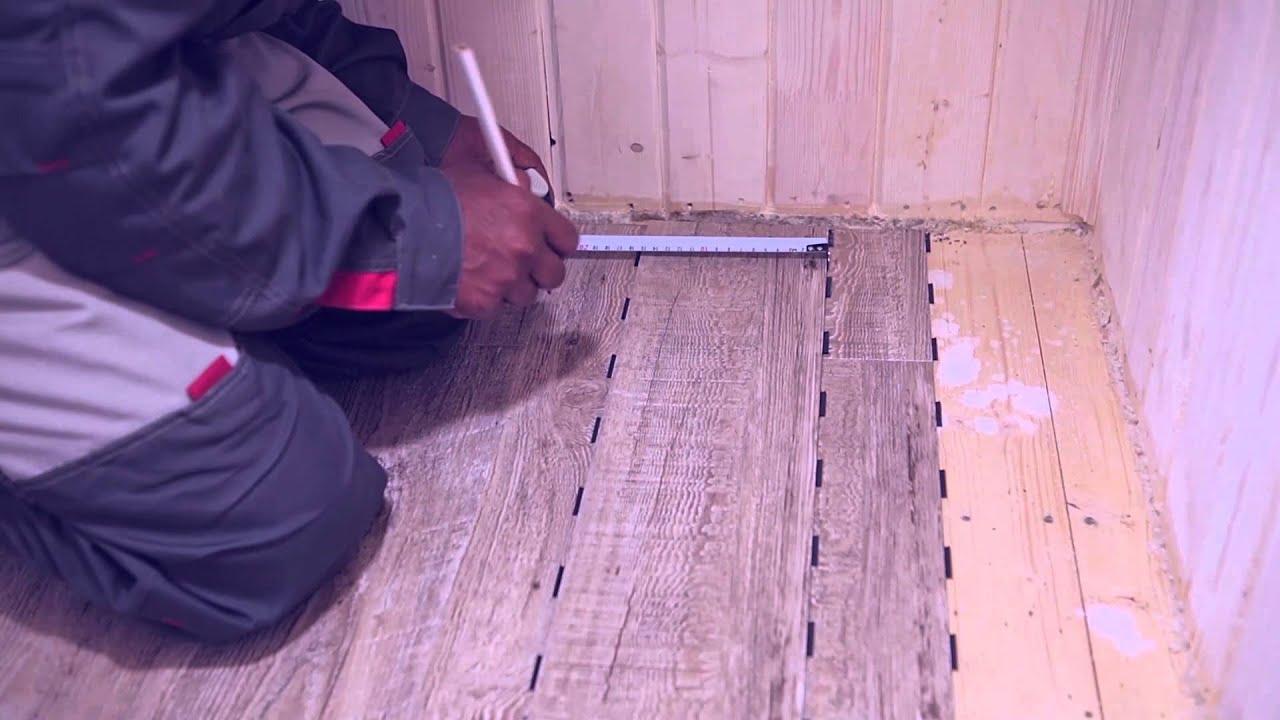 Как установить деревянный плинтус Tarkett (наш способ) - YouTube