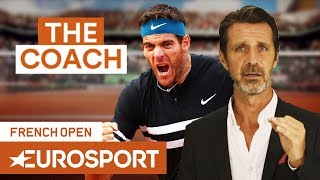 Is Del Potro's Backhand Good Enough for Roland Garros? | The Coach | French Open 2018 | Eurosport