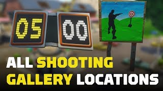 Fortnite: Score 3 At Different Shooting Galleries (All Locations)