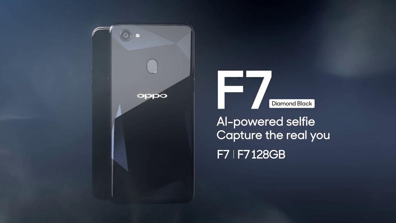 Oppo F7 Diamond Black Youtube