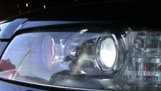 Audi A8 adaptive xenon lights turning on